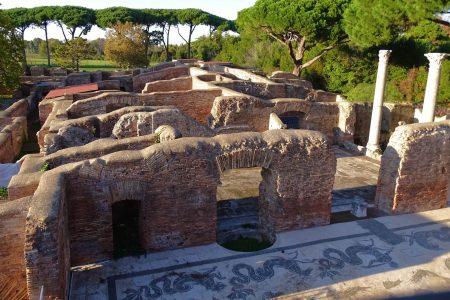 Archaeological Park of Ostia Antica close to the B&B Domus Gratiae