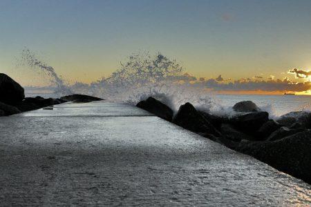 Il Mare e le spiagge di Ostia Lido