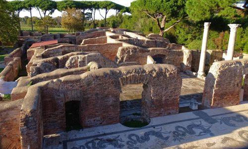 Scavi Archeologici di Ostia Antica vicino a B&B
